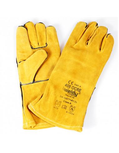 Rękawice spawalnicze długie-nić...